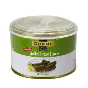 Gurme212 Stuffed Grape Leaves – Original  400g Tin
