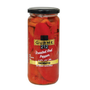 Gurme212 Roasted Red Pepper  500cc Jar