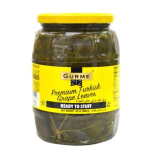 Gurme212 Premium Turkish Grape Leaves  1062cc Jar