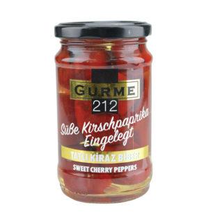 Gurme212 Sweet Cherry Peppers  320cc Jar