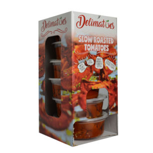 Delimatoes Slow Roasted Redkiss Tomatoes 230g Tray