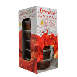 Delimatoes Sun Dried Tomatoes 230g Tray
