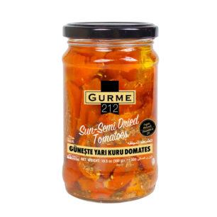 Gurme212 Sun Semi Dried Tomatoes 320cc  Jar