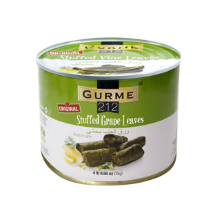 Gurme212 Original Stuffed Grape Leaves 2000g Tin