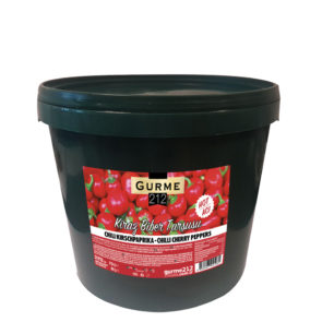 Gurme212 Chilli Cherry Pepper 15kg Pail