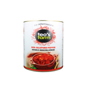 Teos Farm Red Jalapeno Pepper A10 Tin