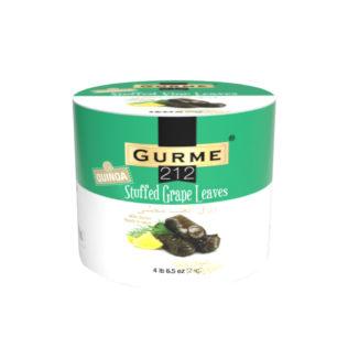 Gurme212 Quinoa Stuffed Grape Leaves 2000g Tin