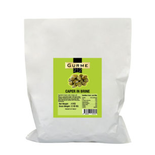 Gurme212 Capers Pickles 4000g Pouch