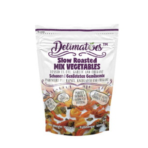 Delimatoes Slow Roasted Mix Vegetables 1000g Doypack