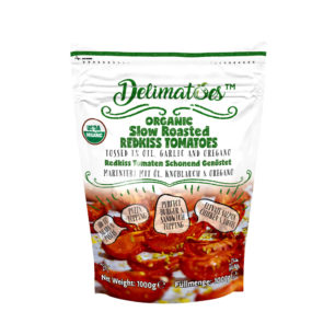 Delimatoes Organic Slow Roasted Redkiss Tomatoes 1000g Doypack