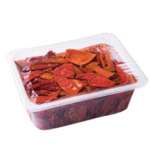 Delimatoes Marinated Semi Dried Peppers 1150g Tray