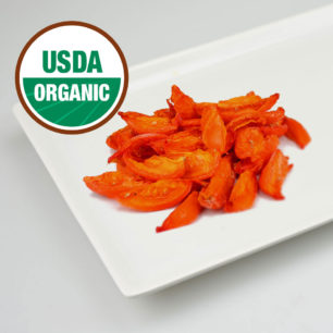 Organic- IQF Oven Semi Dried Red Tomato Segments 10kg Box