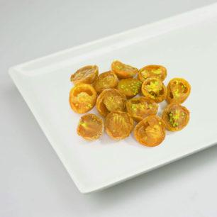 IQF Oven Semi Dried Yellow Cherry Tomato Halves 10kg Box
