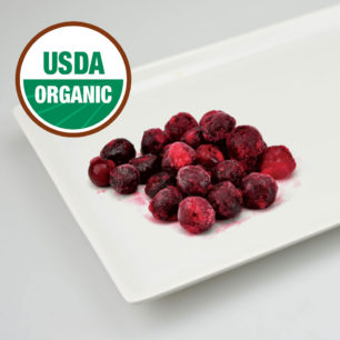 Organic IQF Pitted Sour Cherry 10kg Box